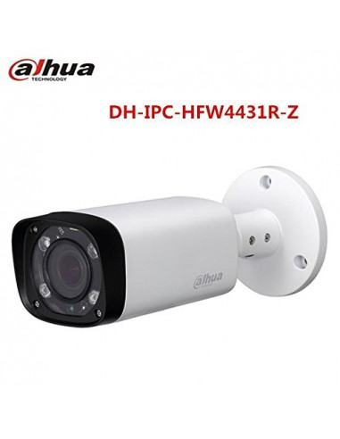 Dahua H.265 IPC-HFW4431R-Z 2.8mm~12mm varifocal motorized lens network camera 4MP IR 80M POE camer