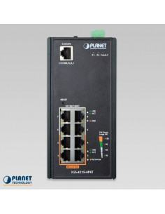 IGS-4215-4P4T PLANET Industrial Managed Gigabit PoE Switch