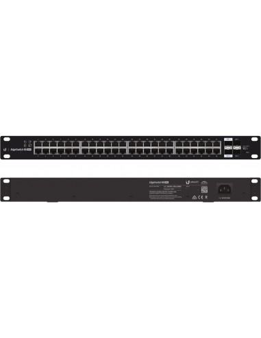 Ubiquiti EdgeSwitch ES-48-750W 48 Port Gigabit 24V/802.3af/at PoE 750W