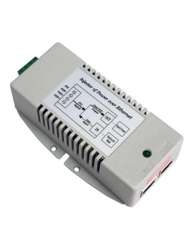 1000Mbps 802.3af Power over Ethernet Injector