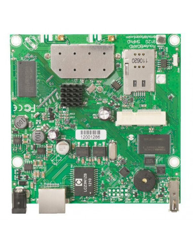 RB911G-5HnD MikroTik RouterBOARD 912 High Power 2.4GHz Wireless Gigabit Router