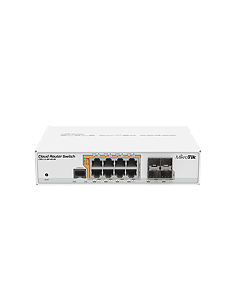 CRS112-8P-4S-IN MikroTik CRS112 8x 24/48V Gigabit PoE + 4x SFP Managed Switch
