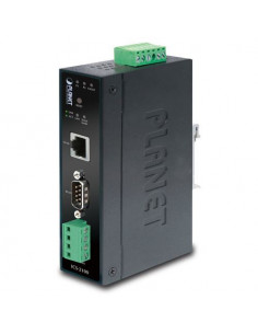 ICS-2100 PLANET Industrial RS-232 / RS-422 / RS-485 Serial to 10/100X Ethernet Converter
