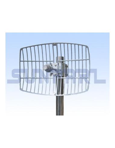 900Mhz DUAL POL 13dbi sector antenna 90deg, NLOS