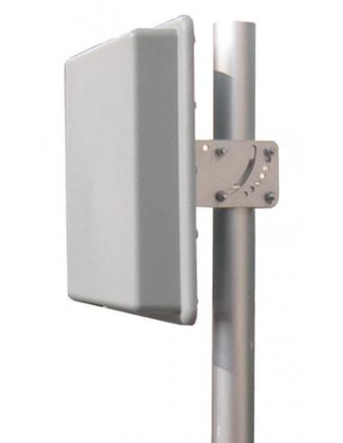 19dbi 5.1-5.8GHz panel antenna integrated into outdoor enclosure